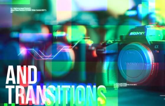 Pr模板 数字幻灯片转场过渡切换效果 Digital Slideshow Transitions