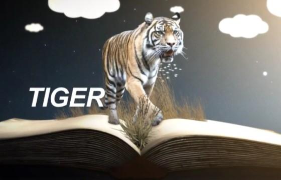 AE模板 – 三维书本翻页创意立体剪纸动画 Documentary