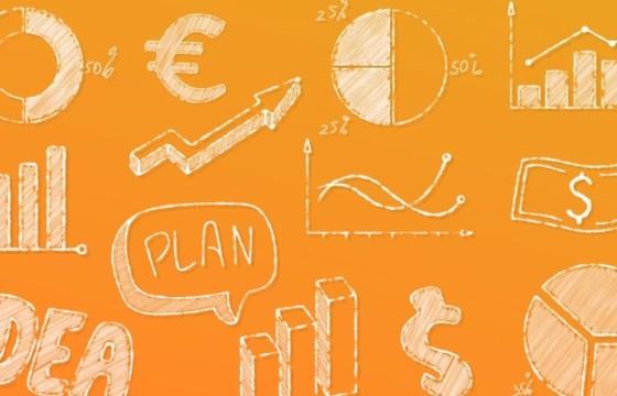 AE模板 手绘涂鸦风格图形动画元素 Doodle Business Elements