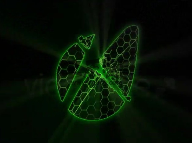 AE模板 - 六边形发光汇聚LOGO标志片头 Energetic Reveal Ae 模板-第1张