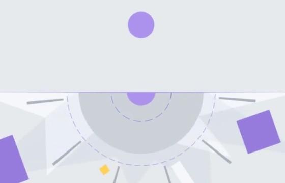 AE模板 MG几何形状弹性LOGO动画片头 Geometric Logo Intro