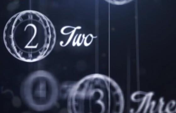 AE模板 新年春节 创意倒计时片头 Happy New Year Countdown