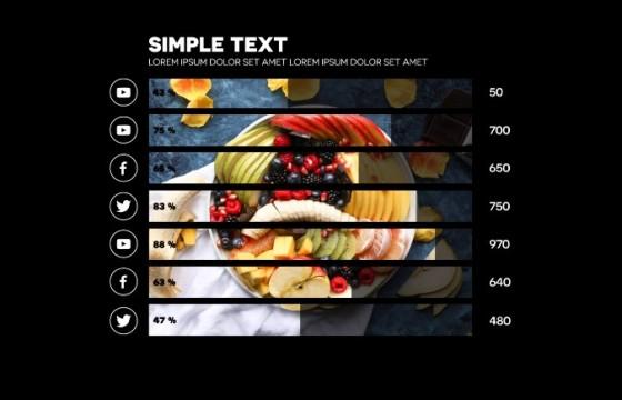 AE模板 图像信息图表动画 Image Infographic Creator