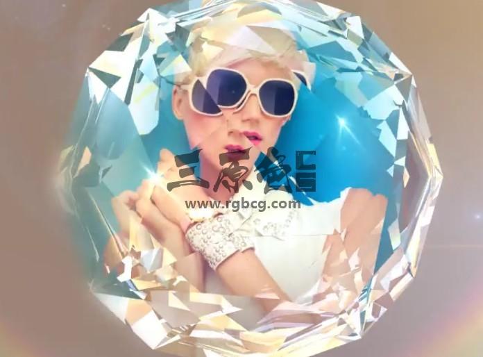 AE模板 镜面折射LOGO片头动画展示 Logo Intro Elegance Ae 模板-第1张