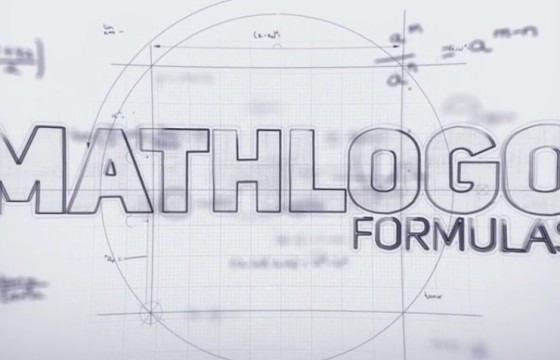 AE模板 数学公式LOGO标志显示 Math Formulas Logo Reveal