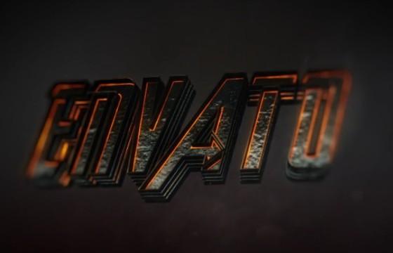 AE模板 震撼三维文字标题LOGO开场 Movie Trailer And Logo Opener 3D