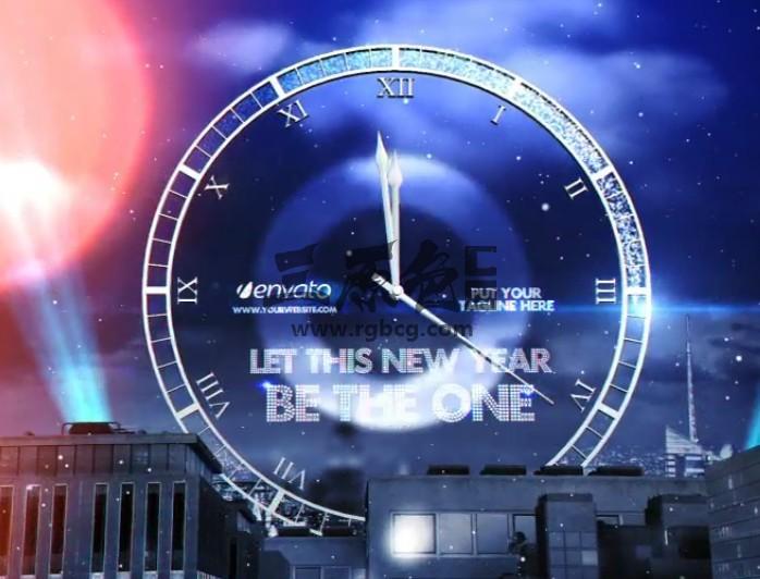 AE模板 2019年春节除夕倒计时 New Year Eve Countdown Ae 模板-第1张