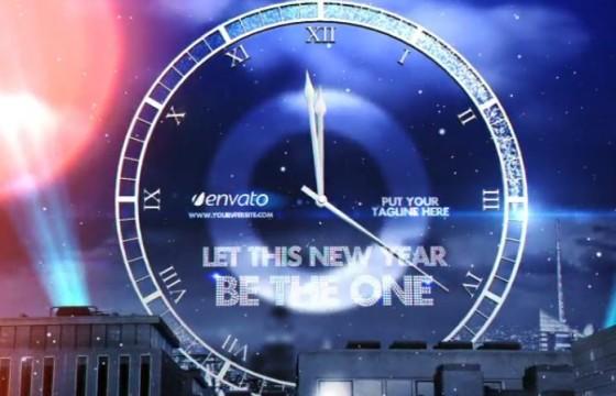 AE模板 2019年春节除夕倒计时 New Year Eve Countdown