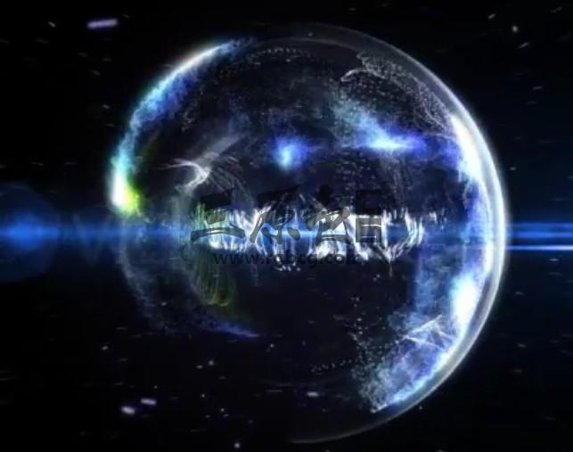 AE模板 粒子特效 科幻星球LOGO片头 Particle Effect 8 Ae 模板-第1张
