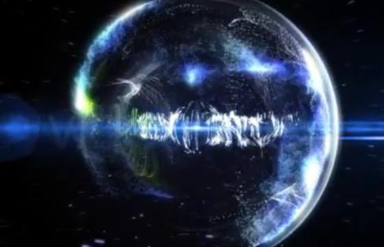 AE模板 粒子特效 科幻星球LOGO片头 Particle Effect 8