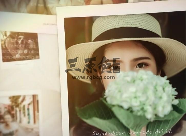 AE模板 - 家庭旅游温馨瞬间照片相册模板 Photo Slideshow Ae 模板-第1张