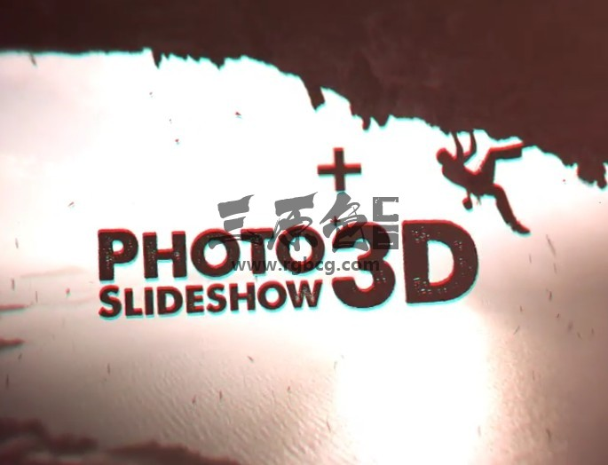 AE模板 三维图文视差照片幻灯片展示 Photo Slideshow 3D Ae 模板-第1张