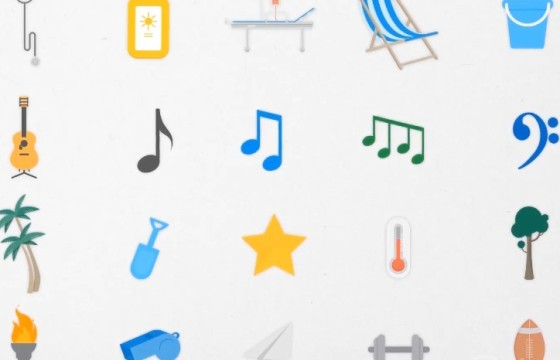 Pr基本图形模板 500多个动态图形动画元素 Animated Icons