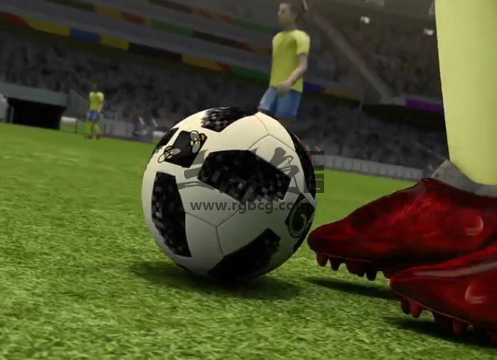 AE模板 - 足球比赛项目LOGO标志显示动画 Soccer Broadcast Intro Ae 模板-第1张