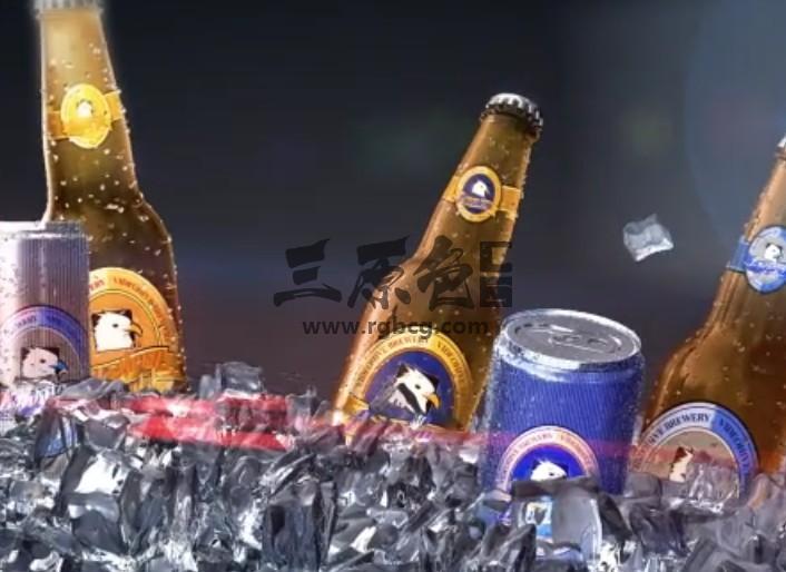 AE模板 冰镇啤酒饮料宣传动画片头 Soft Drink Commercial Ae 模板-第1张