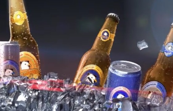 AE模板 冰镇啤酒饮料宣传动画片头 Soft Drink Commercial