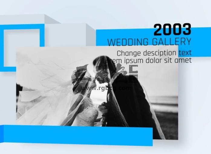 AE模板 历史回忆时间轴图文幻灯片展示 Universal Timeline Ae 模板-第1张