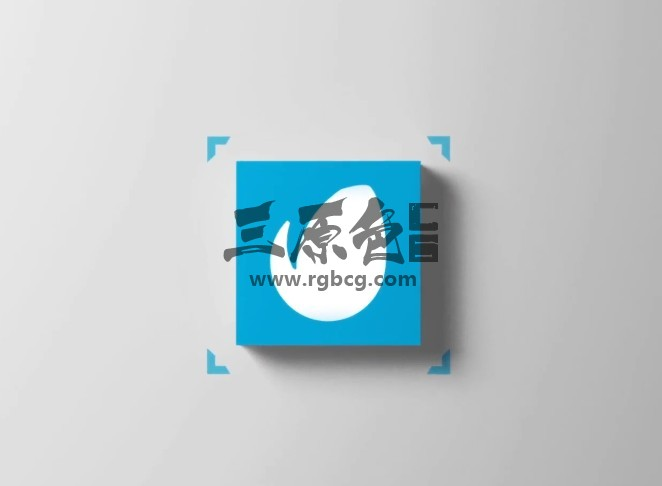 Ae模板 3D立方体LOGO标志显示 3D Cube Logo Reveal Ae 模板-第1张