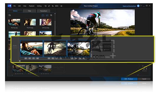 视频特效剪辑制作 威力酷剪CyberLink ActionDirector Ultra v3.0 中文极致版 影视后期-第2张