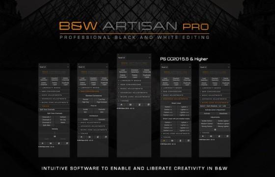 PS扩展脚本 黑白工匠专业版 B&W Artisan Pro v1.3中文汉化版