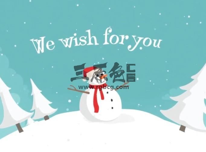 AE模板 - 新年春节圣诞节MG卡通动画片头 Christmas Land Ae 模板-第1张