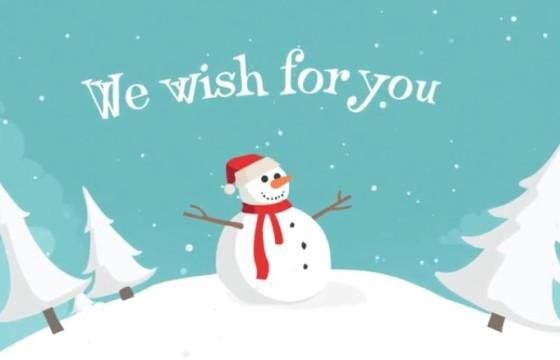 AE模板 – 新年春节圣诞节MG卡通动画片头 Christmas Land