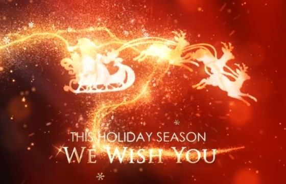 AE模板 – 圣诞新年假期节日祝福片头 Christmas New Year Holiday