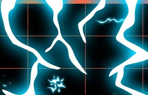 AE模板 卡通图形闪电动画元素 Electric Elements Pack