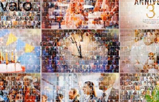 AE模板 优雅的照片幻灯片马赛克效果 Elegant Slideshow Mosaic
