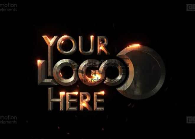 AE模板 史诗电影文字描边特效动画片头 Epic Cinematic Logo Reveal Ae 模板-第1张