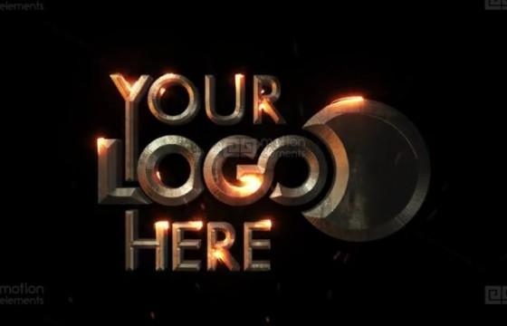 AE模板 史诗电影文字描边特效动画片头 Epic Cinematic Logo Reveal
