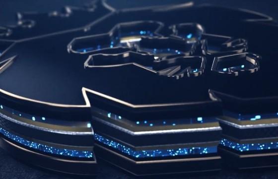 AE模板 三维E3D标志LOGO展示片头 Fast Gold Logo