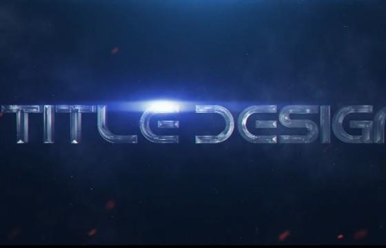 AE模板 – 电影游戏文字标题预告开场 Galaxy Title Design