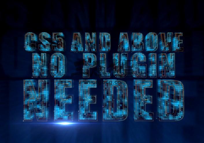 AE模板 高科技线路生长动画标志 High Tech Grow Line Logo Ae 模板-第1张