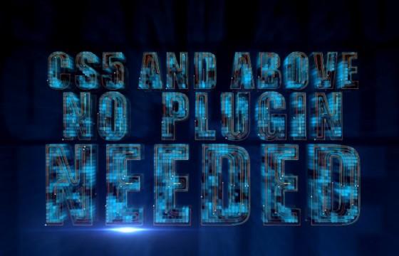 AE模板 高科技线路生长动画标志 High Tech Grow Line Logo