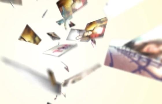AE模板 三维碎片镜面照片LOGO模板展示 Logo Reveal