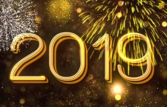 AE模板 2019年新年春节倒计时片头 New Year Countdown 2019