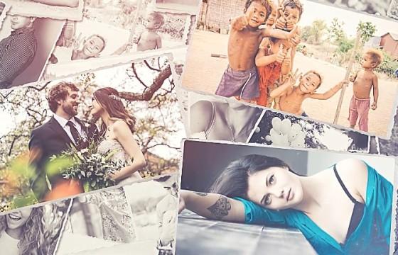 AE模板 创意温馨浪漫照片相册幻灯片展示 Photo Slideshow