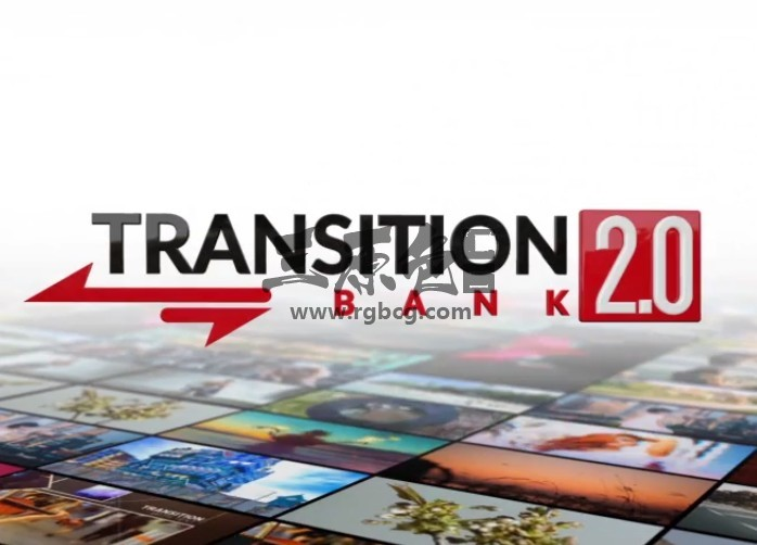 AE模板 特效水墨视频无缝转场过渡切换效果 Transition Bank Ae 模板-第1张