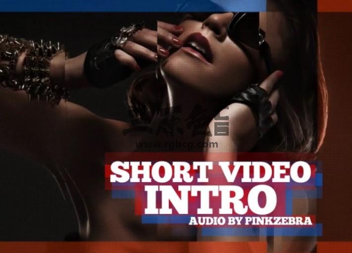 AE模板 节奏感短视频图文幻灯片展示 Videohive Short Video Intro Ae 模板-第1张