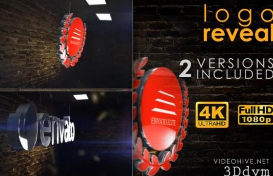AE模板 E3D三维LOGO文字动画展示 Epic Logo Reveal