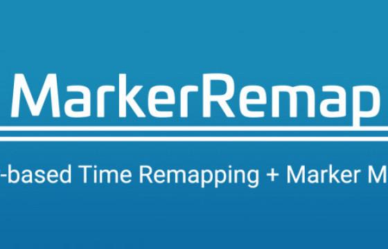 AE脚本 – 图层标记重映射脚本 Aescripts Marker Remap v1.3
