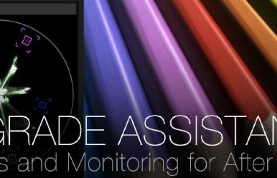 AE插件 色彩示波器调色监视器助手 qp Grade Assistant v2.0.3 Win