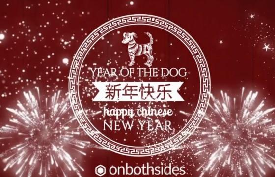 AE模板 2019中国新年春节祝福片头 Chinese New Year Carousel