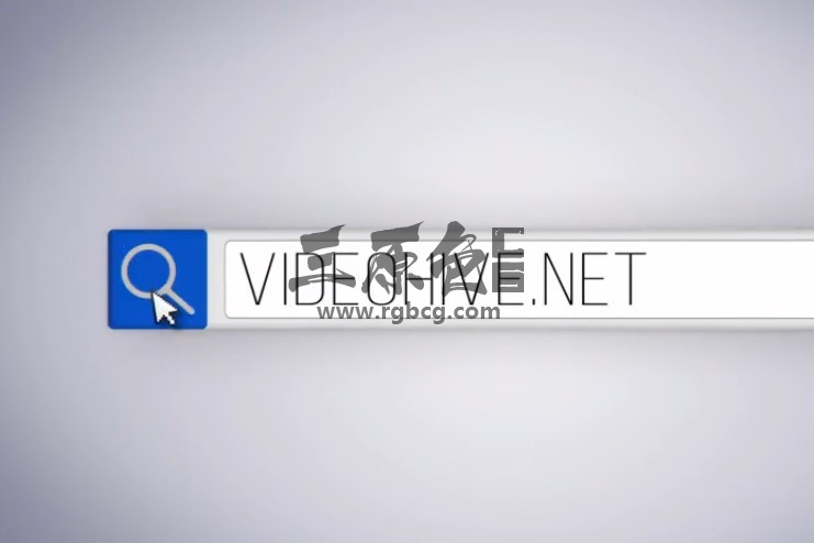AE模板:搜索框索引动画LOGO显示片头 Clean Search Logo Ae 模板-第1张