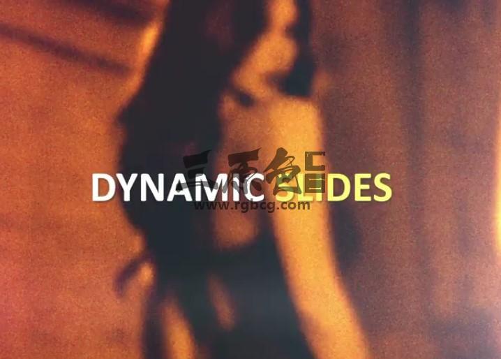 AE模板 动态快速闪现图文幻灯片展示 Dynamic Fast Slides Ae 模板-第1张