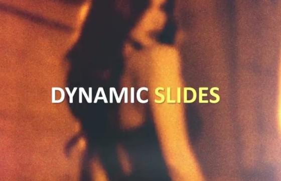 AE模板 动态快速闪现图文幻灯片展示 Dynamic Fast Slides