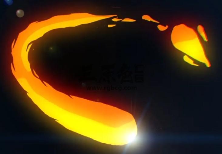 AE模板 - MG卡通图形动画LOGO显示片头 Flash Logo Reveal Ae 模板-第1张