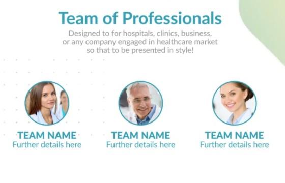 AE模板 生物医疗保健企业公司介绍 Healthcare Corporate Presentation