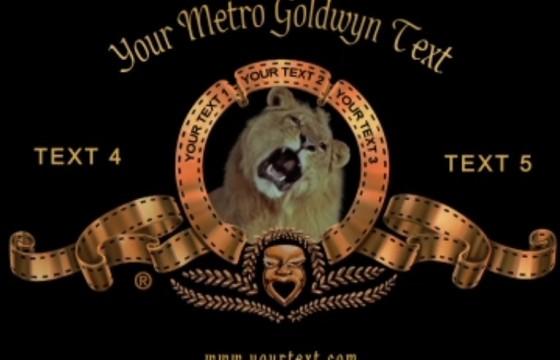 AE模板 经典米高梅开场片头模板修改版 MGM Logo Title